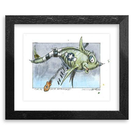 Derek Hess Original Art - Dr. 26 Seuss Marauder II - Original Artwork - Original Artwork