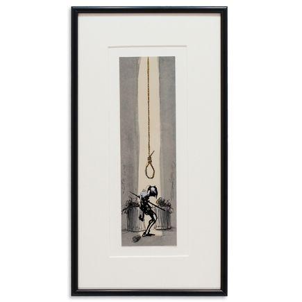 Derek Hess Original Art - Life Line