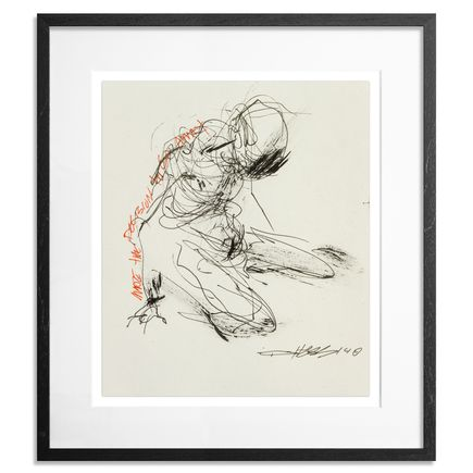 Derek Hess Original Art - Made The Decision To Go Away