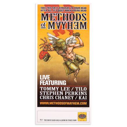 Derek Hess Art - Methods Of Mayhem 1999