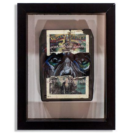 Derek Hess Original Art - Molly Hatchet - Internal Conflict Externalized As War