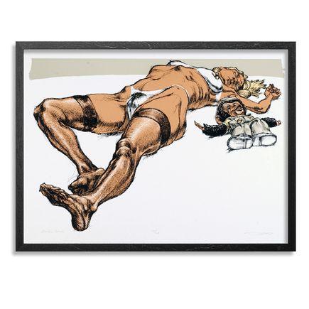 Derek Hess Art - Monkey Trick