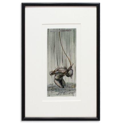 Derek Hess Original Art - Perceived Insurmountable Odds