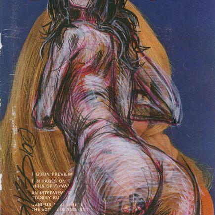 Derek Hess Original Art - Original Painting - September 1968