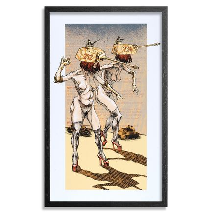 Derek Hess Art - Super Predator