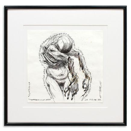 Derek Hess Original Art - Symbosis I