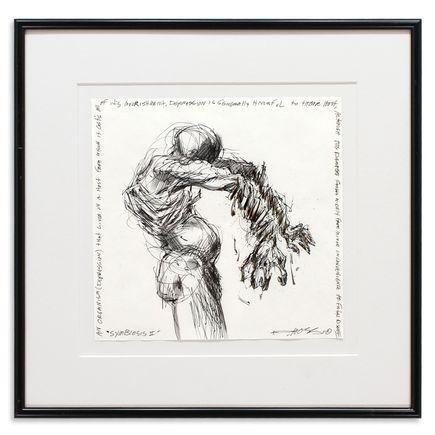 Derek Hess Original Art - Symbosis II