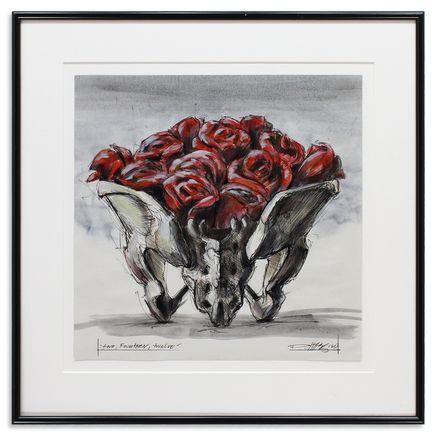 Derek Hess Original Art - Two, Fourteen, Twelve