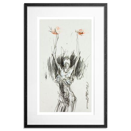Derek Hess Original Art - Untitled Sketch 5