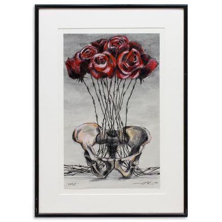 Derek Hess Original Art - Vase