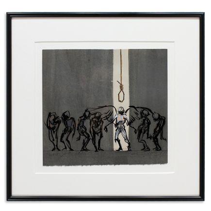 Derek Hess Original Art - Wait Your Turn