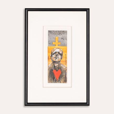 Derek Hess Original Art - Untitled - EDP 20