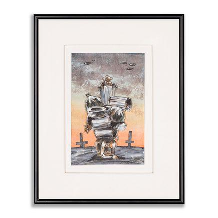Derek Hess Original Art - Untitled EDP 10