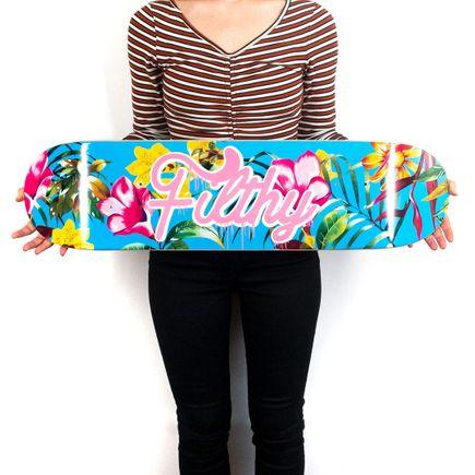 Diana Georgie Art Print - Filthy - Skate Deck Variant