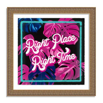 Diana Georgie Art Print - Right Place, Right Time - Limited Edition Prints