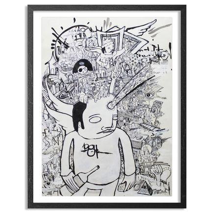 Doctor Eye Original Art - 1984 Thoughts