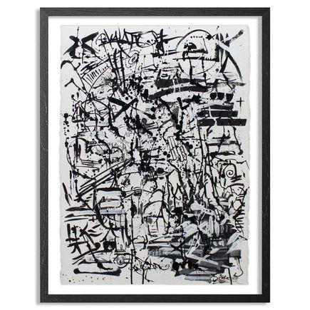 Doctor Eye Original Art - Organized Chaos