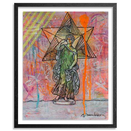 Doctor Eye Original Art - Sacred Thoughts