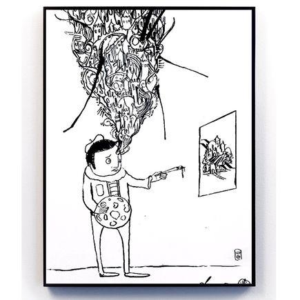 Doctor Eye Original Art - Imagination Is Key
