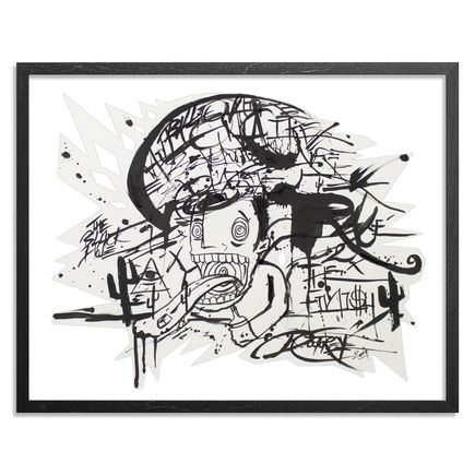Doctor Eye Original Art - Rat Race