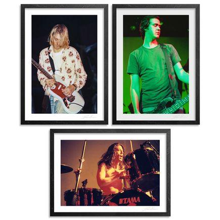 Don Lawver Art Print - Nirvana 1993 - 3-Print Set