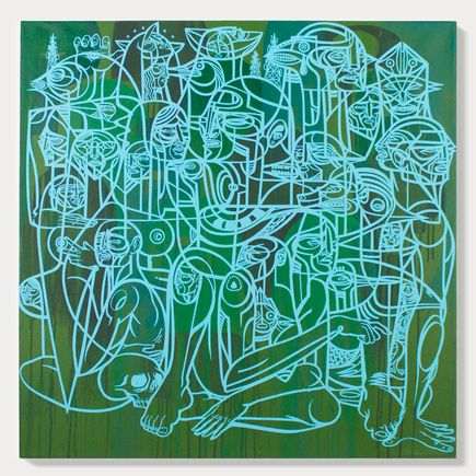 Doze Green Original Art - Provocateurs 2A