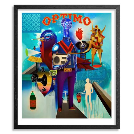 Doze Green Art Print - Optimo