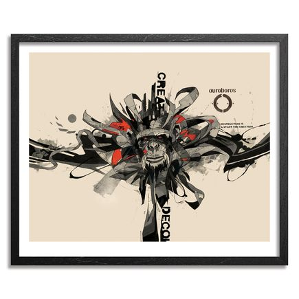 Dragon 76 Art Print - Creative Destruction