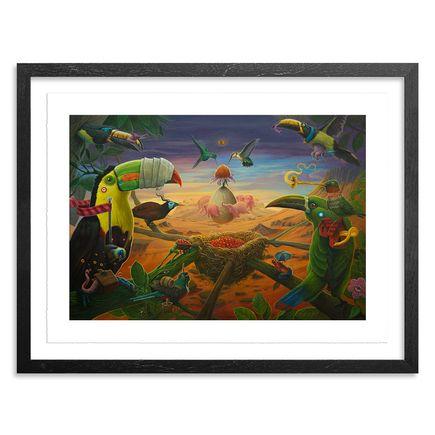 Dulk Art Print - 15 x 11 Inch Edition - Oasis