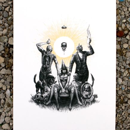 John Dunivant Art Print - The Fools
