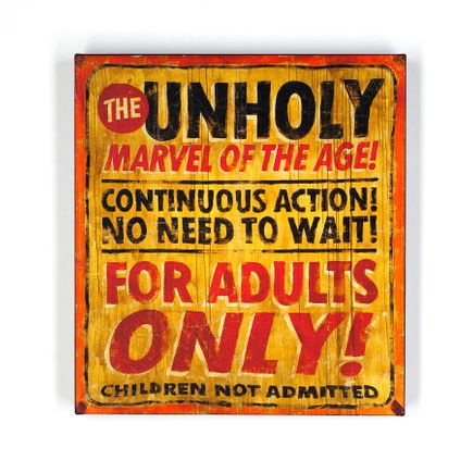 John Dunivant Art Print - The Unholy