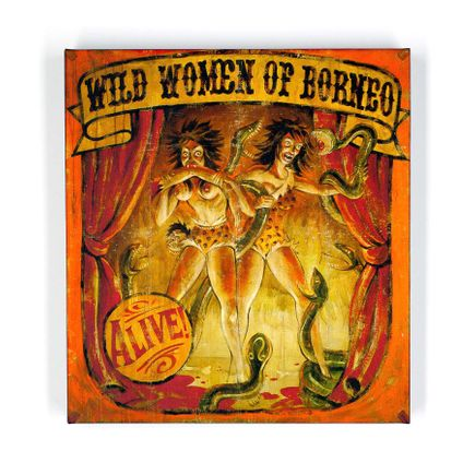 John Dunivant Art Print - Wild Women Of Borneo