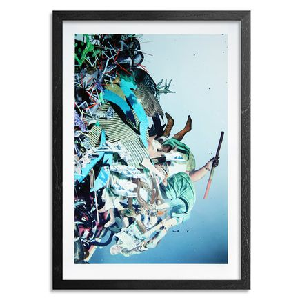 The Heliotrope Foundation Art Print - Dustin Yellin