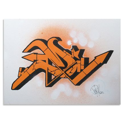Dvate Original Art - Orange Umber #1 - Original Artwork