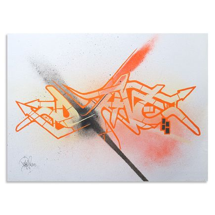 Dvate Original Art - Orange Umber #3 - Original Artwork