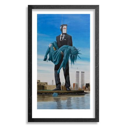 Earth Crusher Art Print - Lady Liberty - Standard Edition