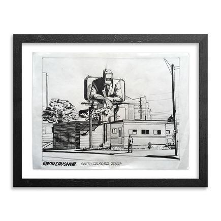 Earth Crusher Original Art - Untitled (Look at this Loser) - Original Sketch