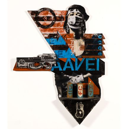 Eddie Colla Original Art - AAVE 1 - Collaboration With David Young V