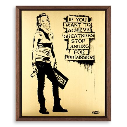 Eddie Colla Art Print - Ambition - Gold Variant