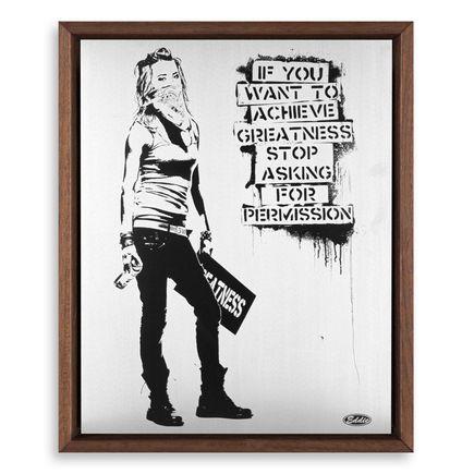 Eddie Colla Art Print - Ambition - Silver Variant