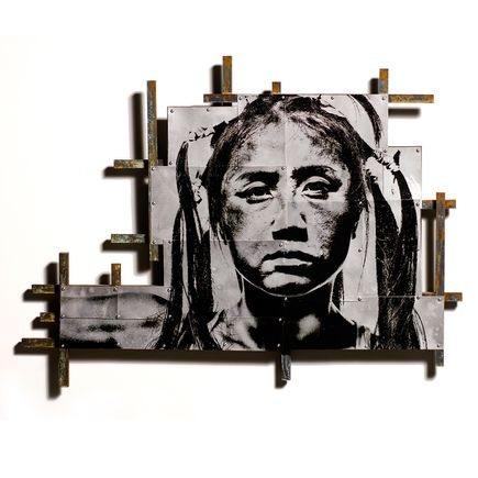 Eddie Colla Original Art - Escutcheon 2 - Original Artwork