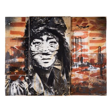 Eddie Colla Art - Not By Victory - Hand-Painted Multiples
