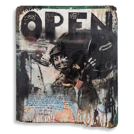Eddie Colla Original Art - Open