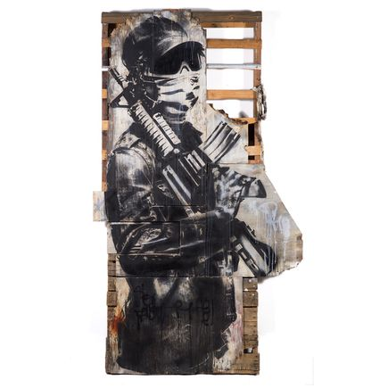 Eddie Colla Original Art - Watchman