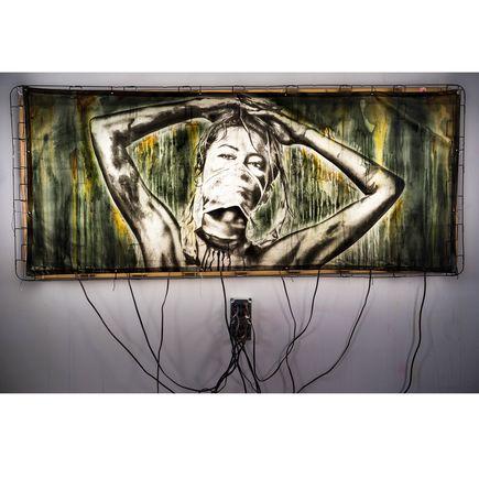 Eddie Colla Original Art - We Are Shadows, And Night Falls