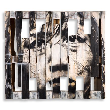 Eddie Colla Original Art - Weight Of Souls