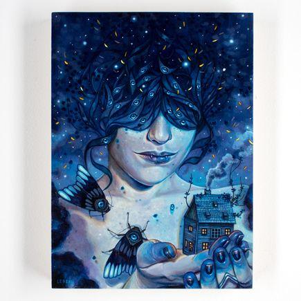 Edith Lebeau Original Art - The Darkest Night