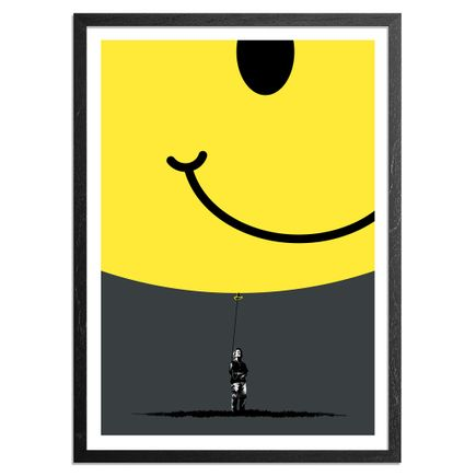 Eelus Art Print - Smiley Edition - Hold On To What You Got
