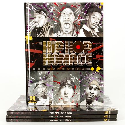 Eklipz Book - Hip Hop Homage - The Art of Eklipz (Signed)