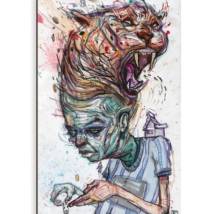 Ekundayo Original Art - Beast 1 - Original Painting